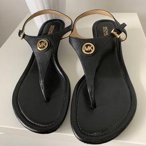 michael kors romona wedge sandal NWOB